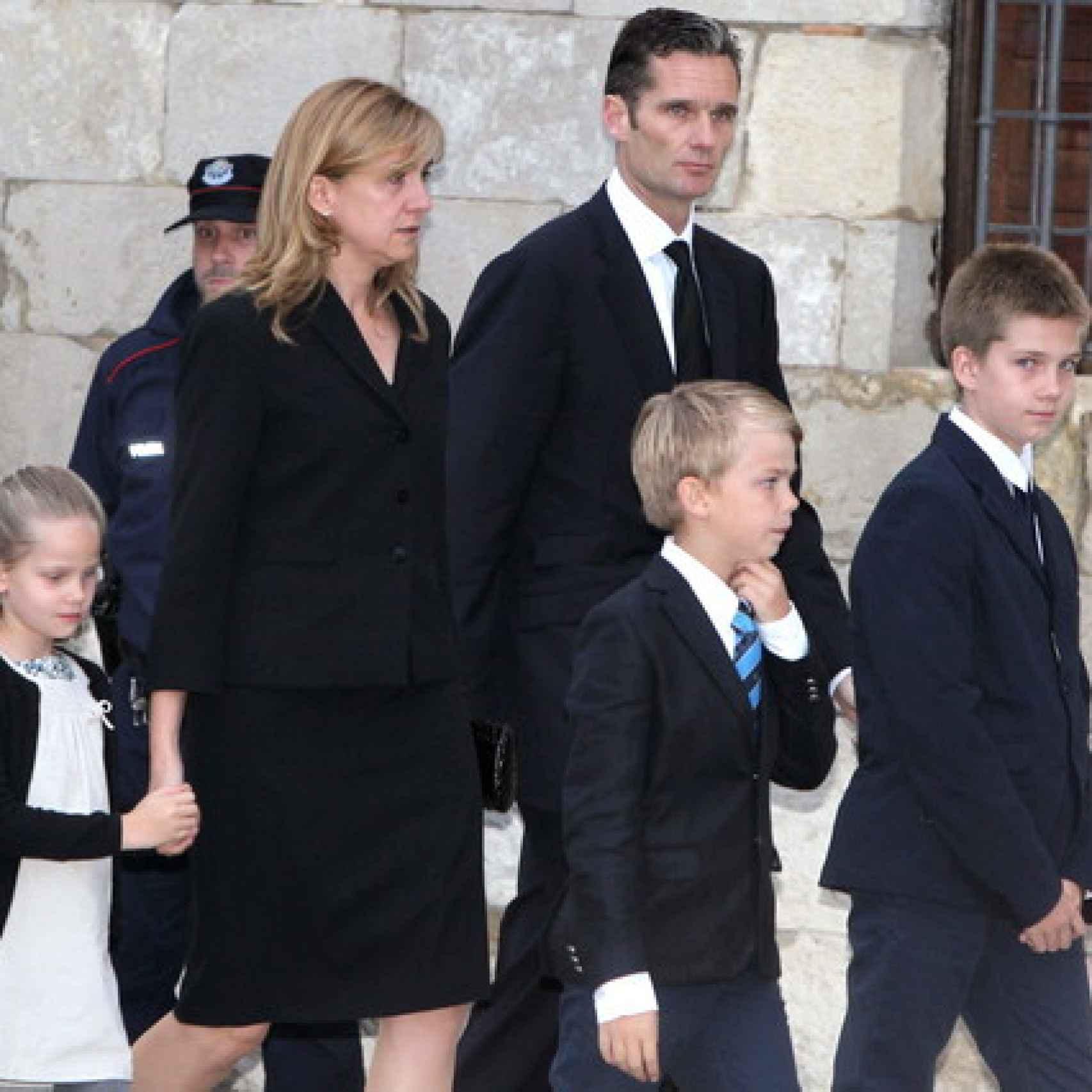 Funeral por Juan María Urdangarín Vitoria, padre de Iñaki