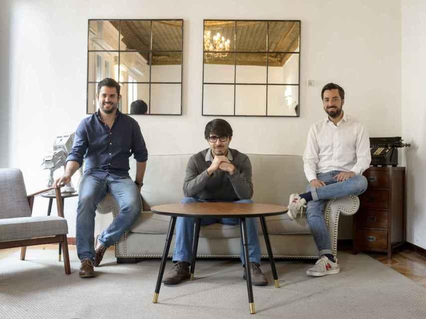 Los tres emprendedores fundadores de Seedtag.