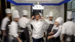 Ramón Freixa es uno de los chefs que ha iniciado esta original cruzada.