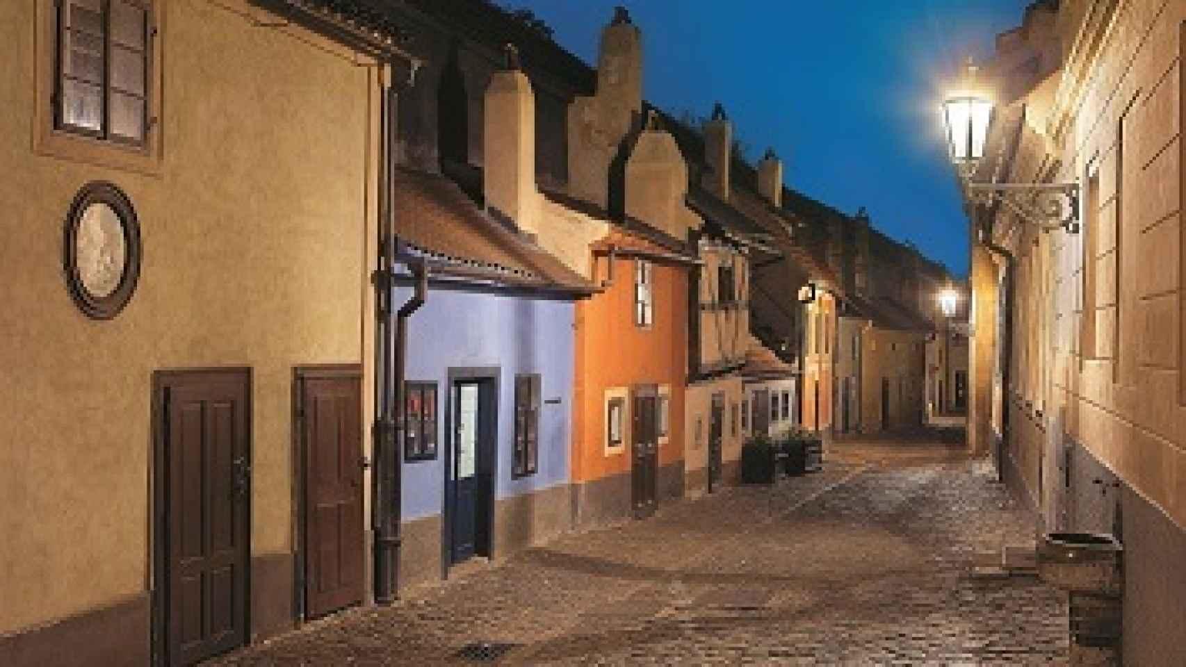 El callejón del oro, una célebre calle de Praga.