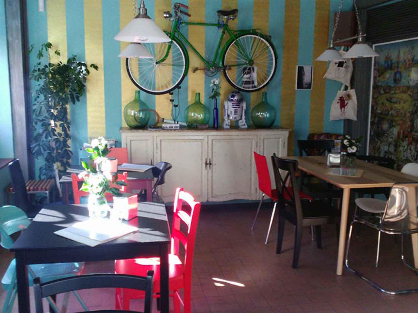Interior del restaurante. /
