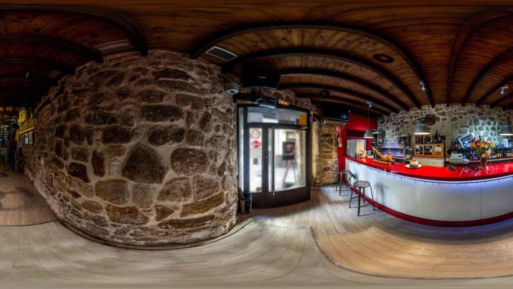 Vista panorámica del interior del establecimiento. /