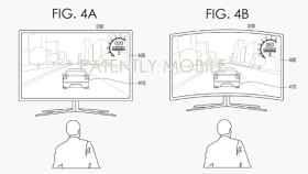 Samsung patenta pantallas de TV que se doblan para adaptarse a los juegos