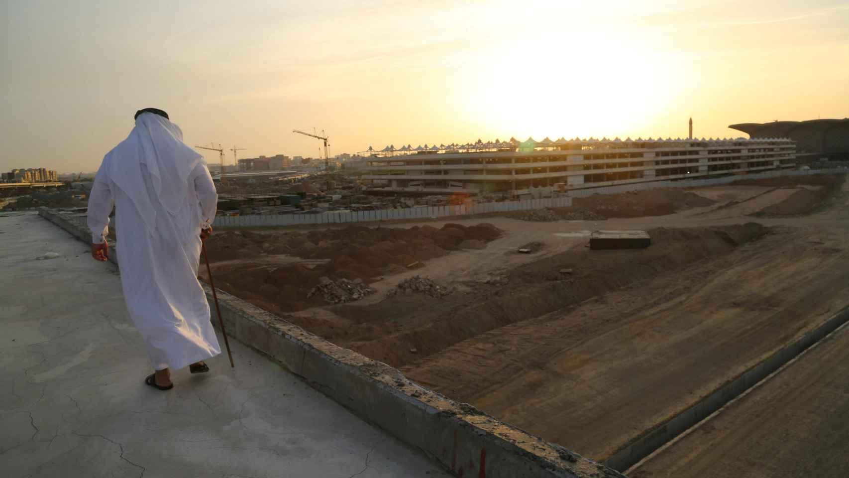 Obras del AVE a La Meca