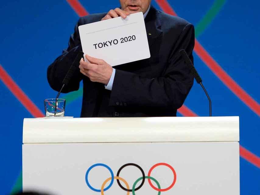 Adjudicación de los Juegos de 2020 a Tokio