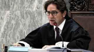 El sustituto de la juez Rosell, Salvador Alba.