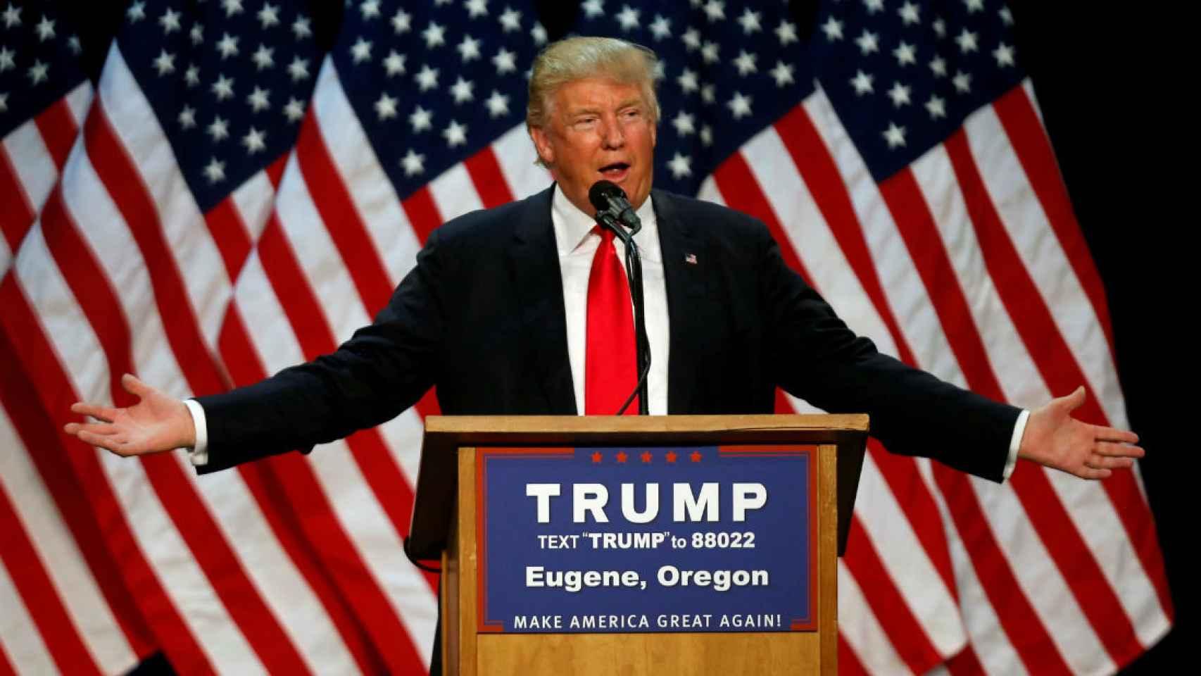 Donald Trump se enfrentará al candidato demócrata en noviembre.