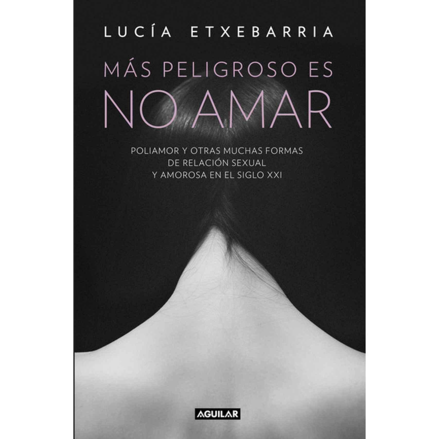 Más peligroso es no amar (Editorial Aguilar) es la última novela de Extebarría