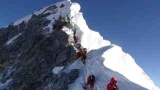 Cumbre en el Everest por primera vez en dos años