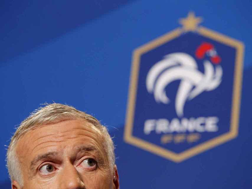 Didier Deschamps, seleccionador francés.