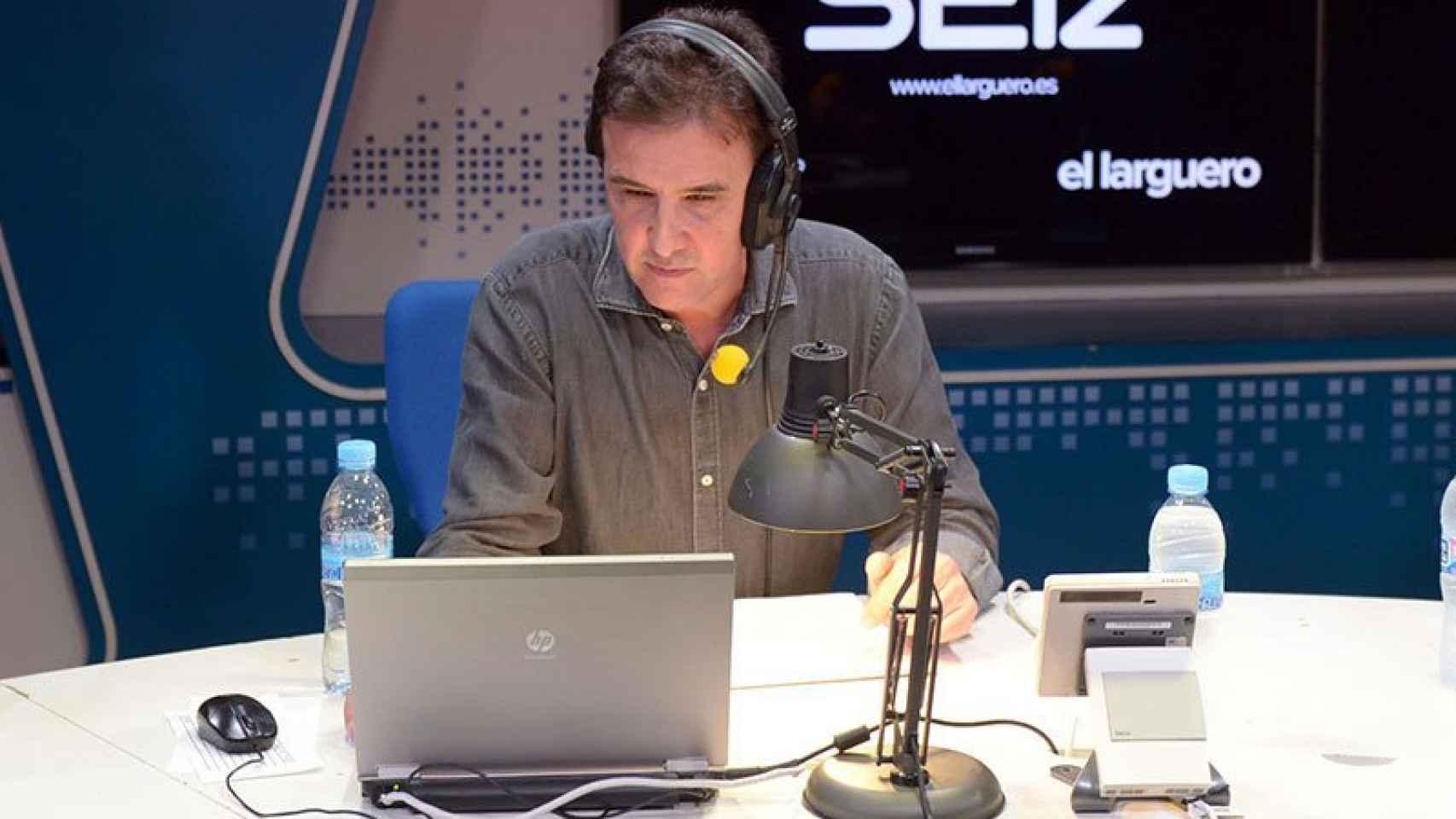 José Ramón de la Morena (Onda Cero), cuando todavía estaba en los micrófonos de la Ser.