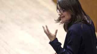 Oltra este jueves en el Parlamento valenciano