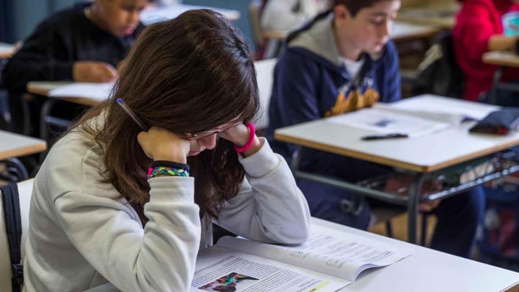 Los alumnos de 6º de Primaria han terminado hoy de examinarse de la reválida