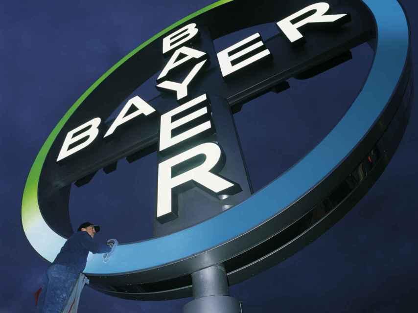 Logo del gigante alemán Bayer.