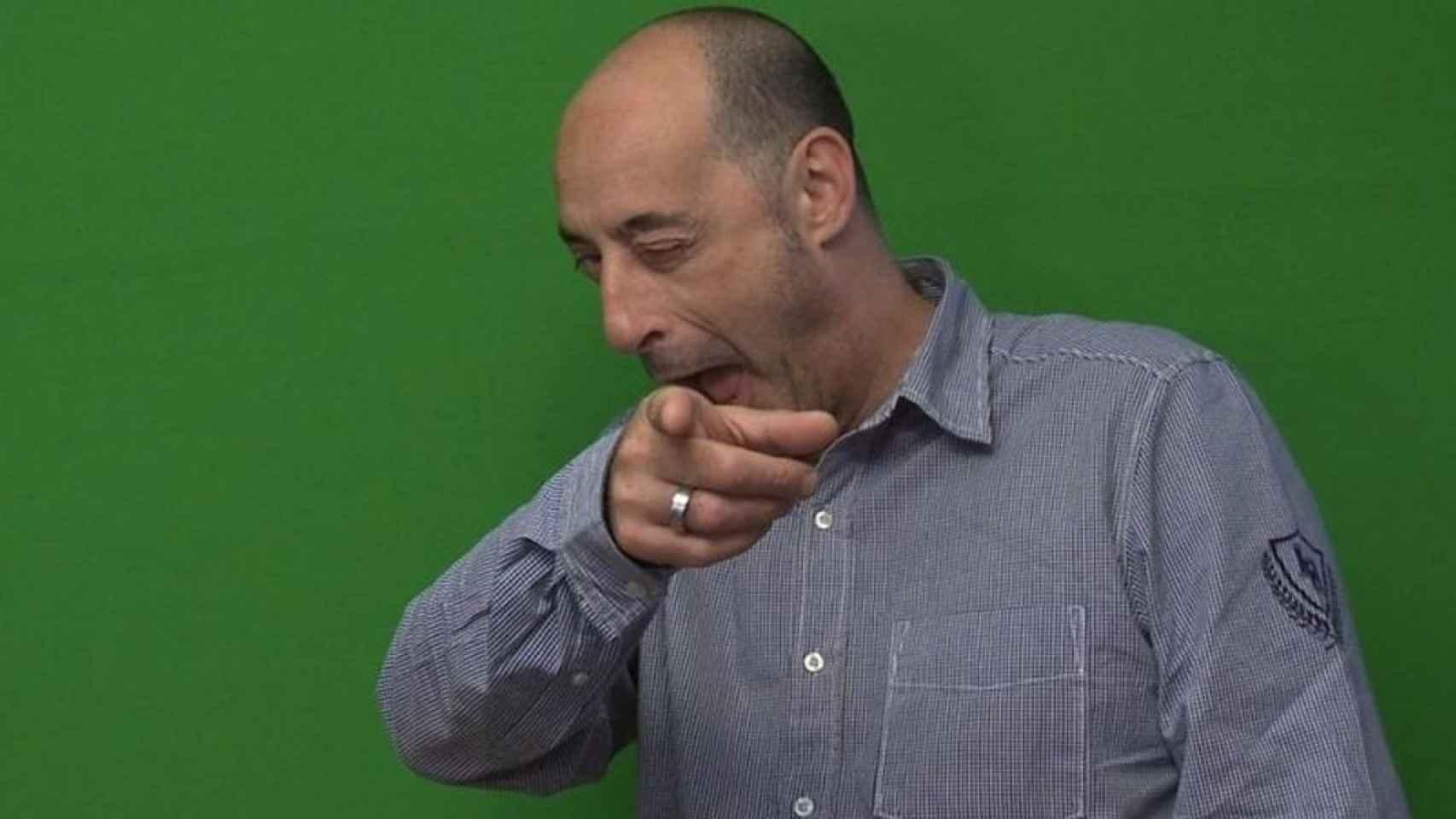 El cómico, presentador y actor Felisuco.