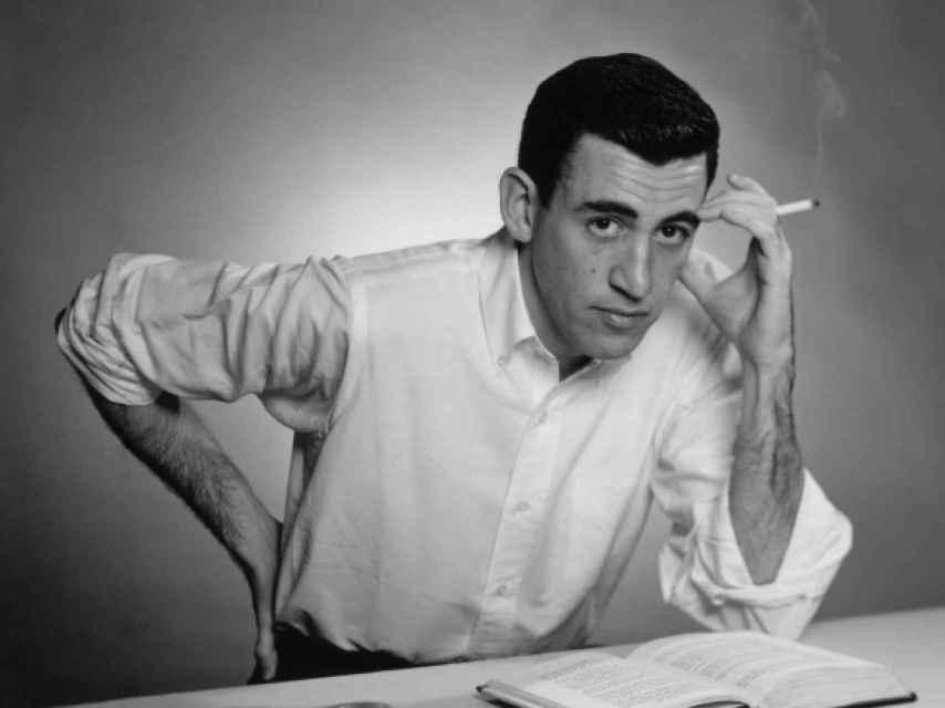 Salinger en una de las pocas imágenes que se han dado a conocer.