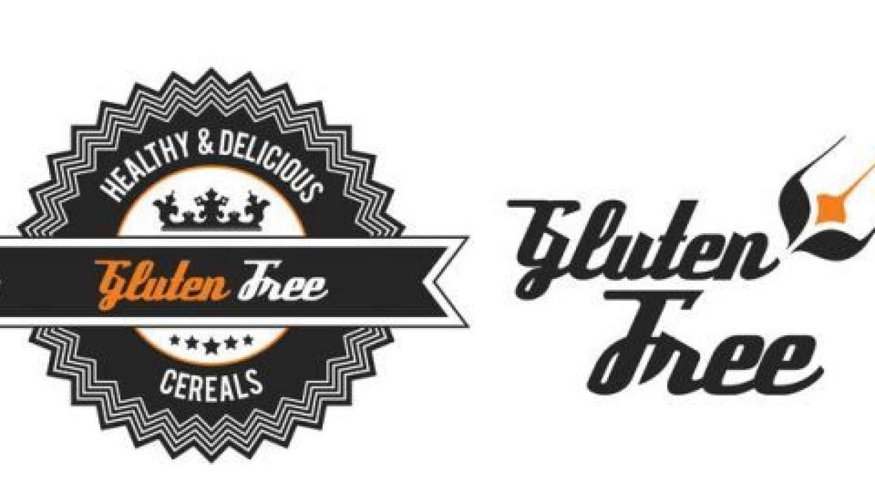 Diferentes etiquetados de productos sin gluten.