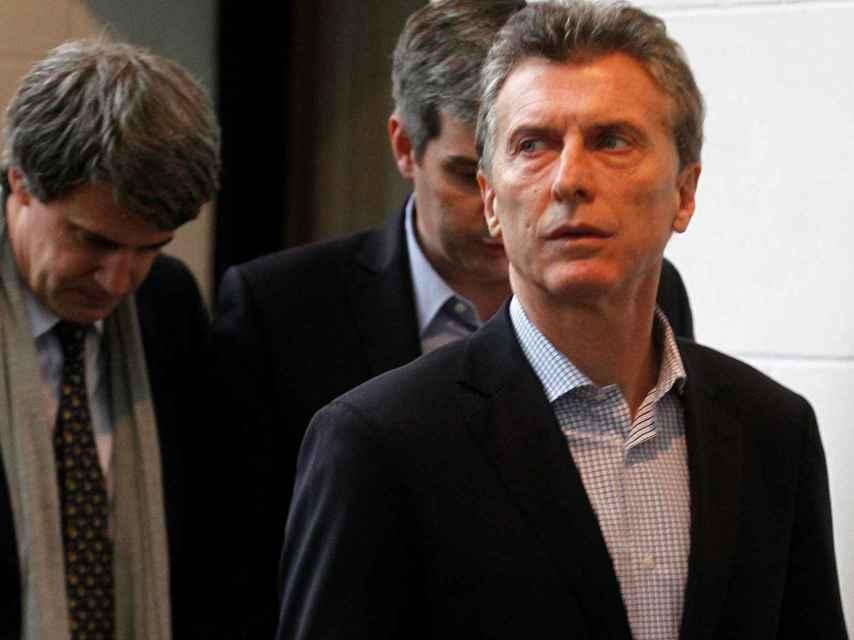Macri abre la puerta a un nuevo 'blanqueo'.