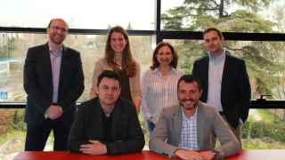 El equipo de eInicia, la plataforma de crowdfunding de Auriga.