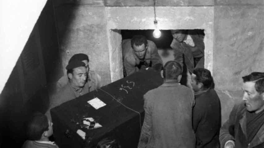 Enterramientos cripta del VC