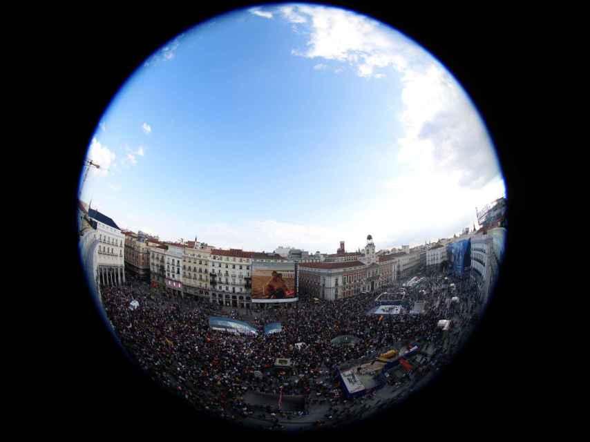 El epicentro del 15-M ha vuelto a estar en la Puerta del Sol