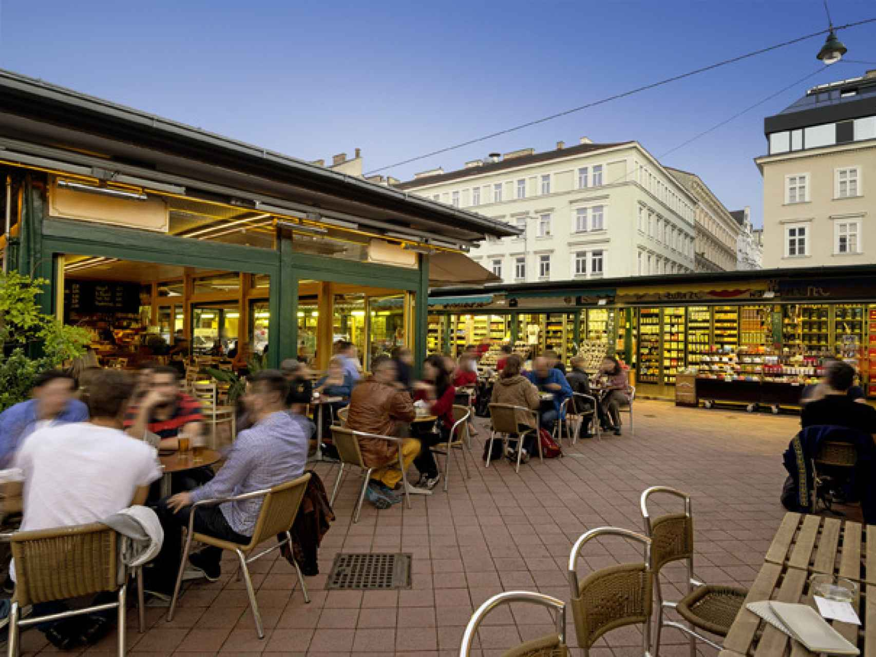 Los cafés de Viena, sus terrazas, sus calles...