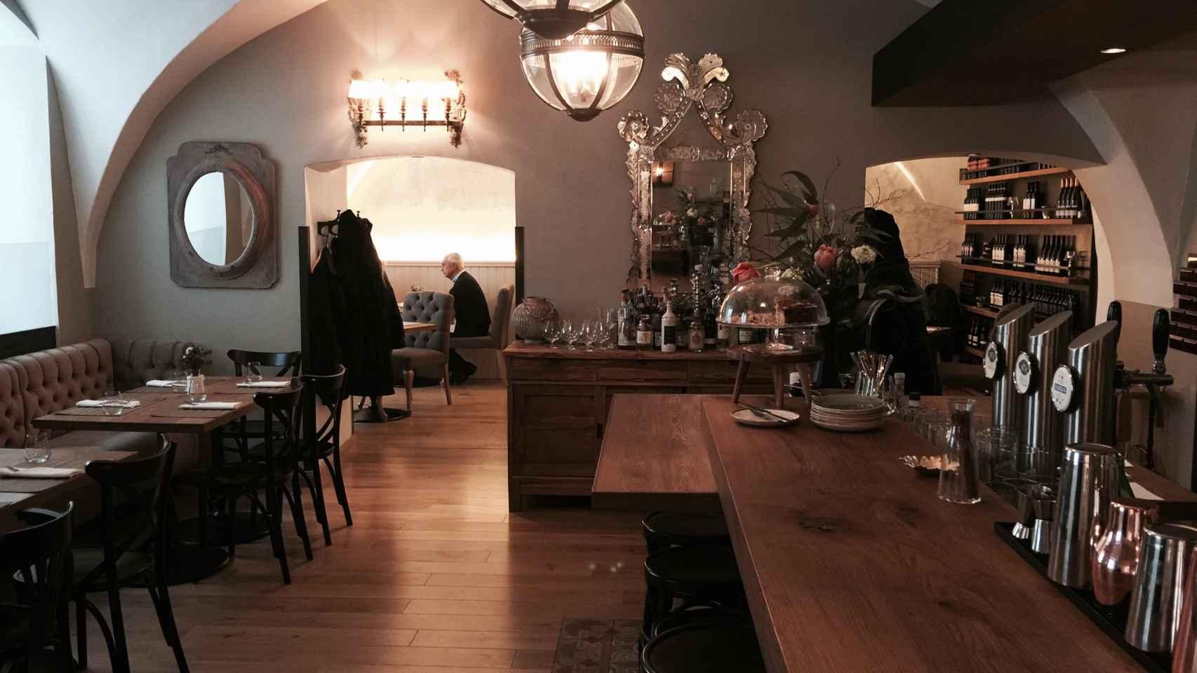 Un bar restaurante de Viena.