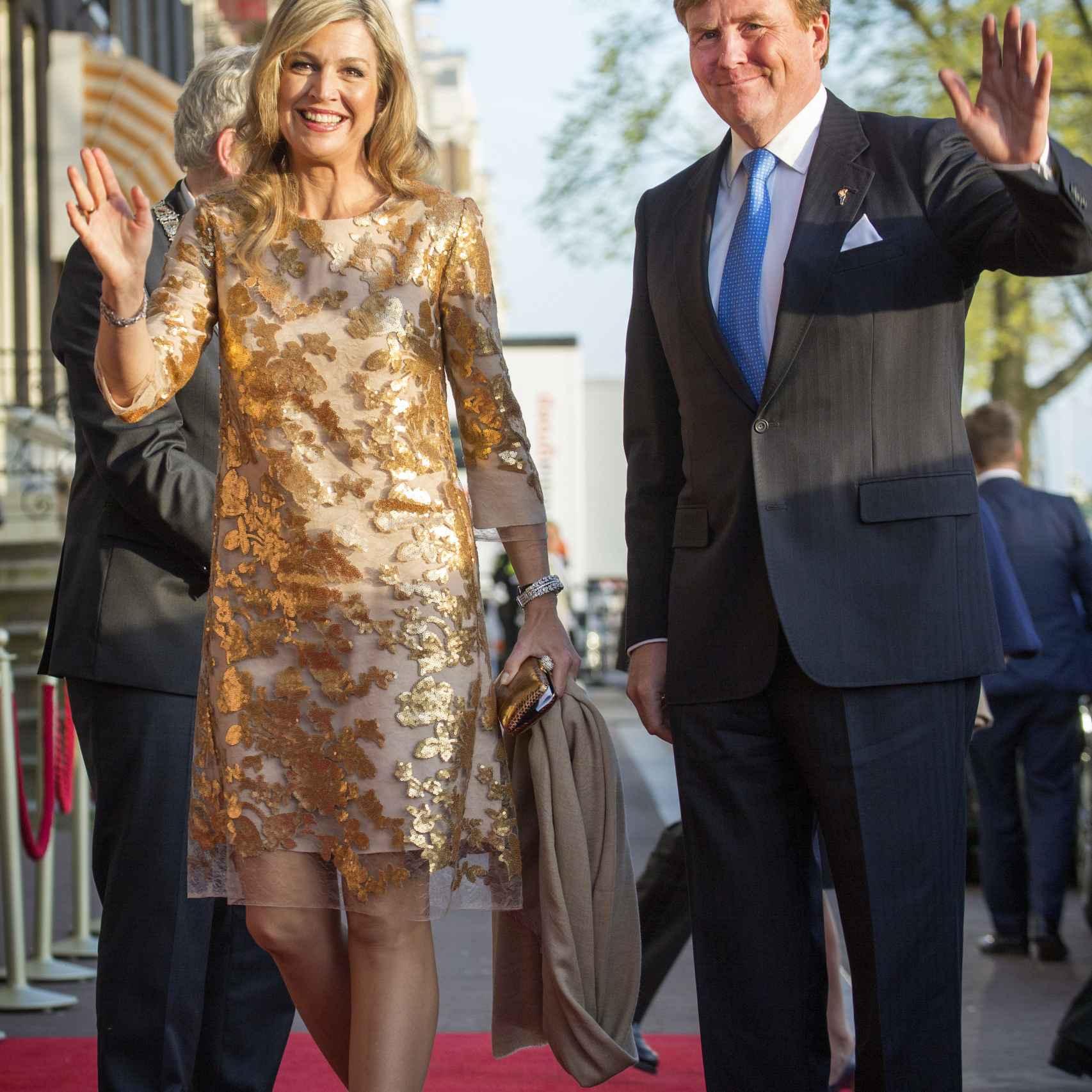 Los reyes de Holanda, Máxima y Guillermo