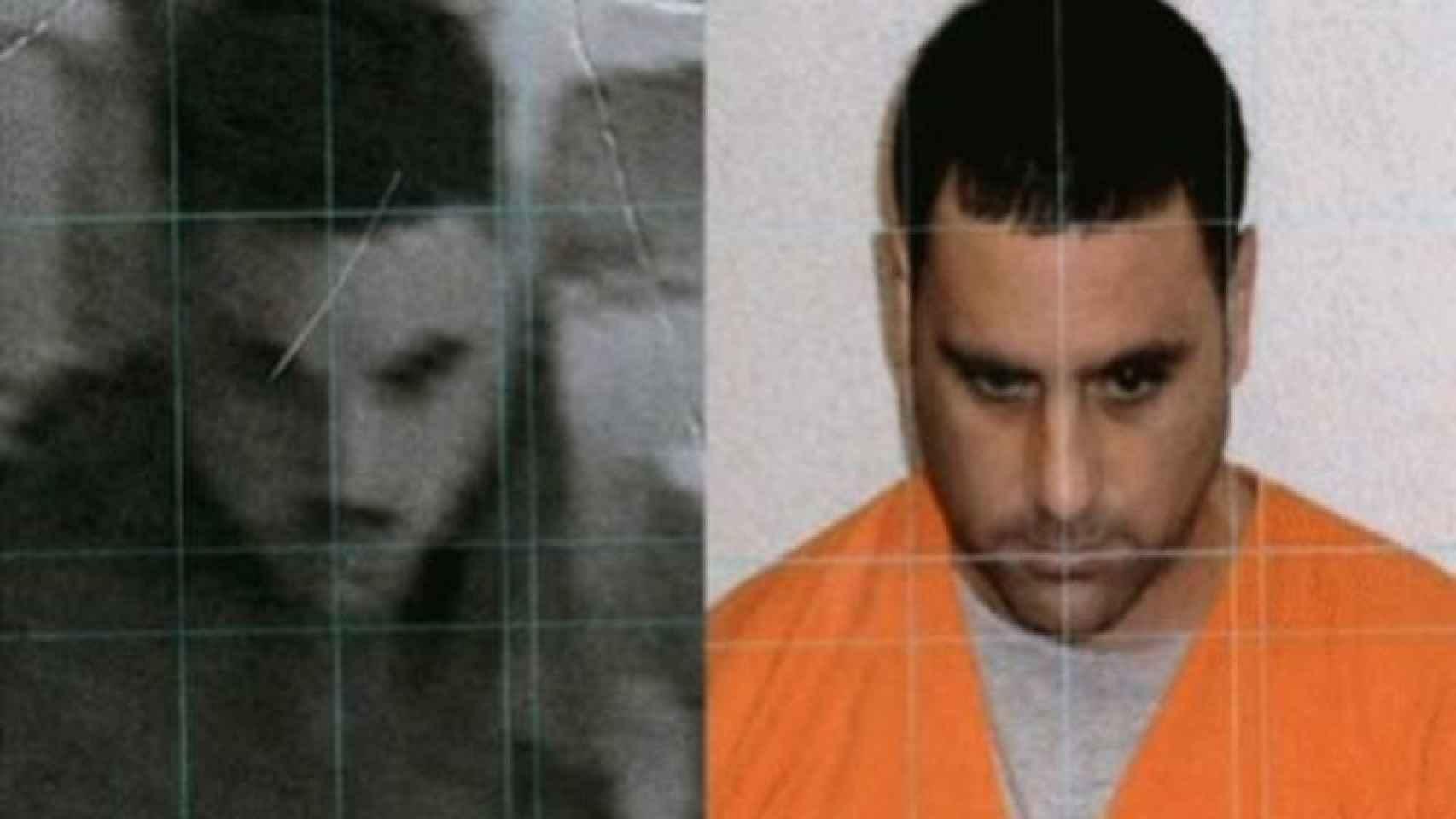 Captura del vídeo con el que se condenó a Pablo Ibar y su foto.