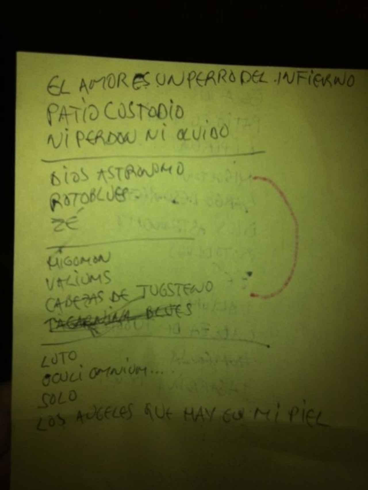 Setlist del último concierto de Viaje a 800.