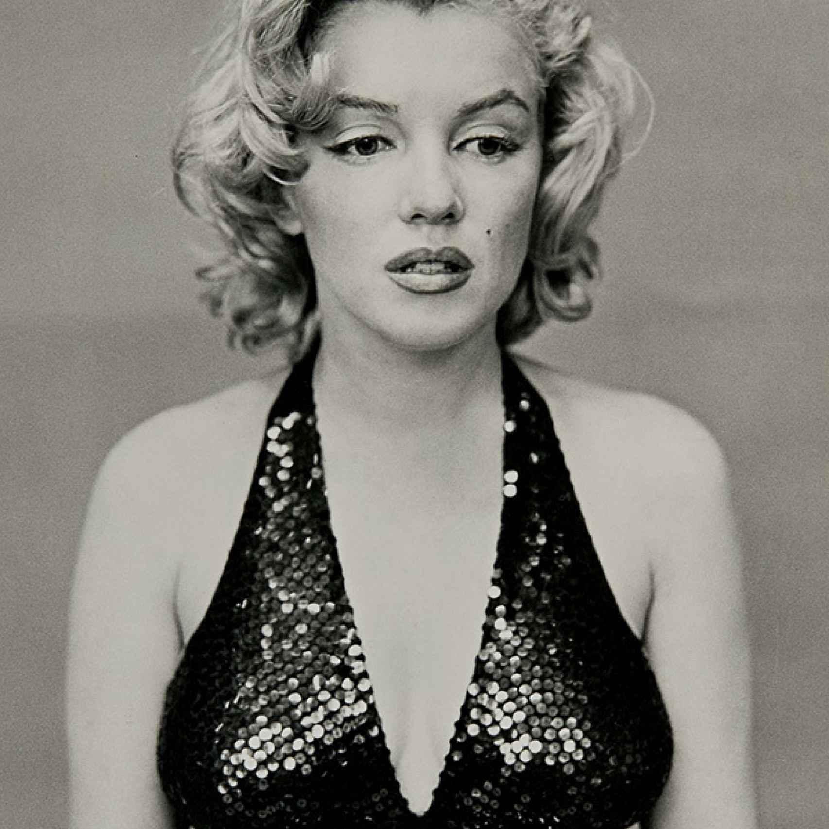 Marilyn Monroe fotografiada por Avedon en el Nueva York de 1957