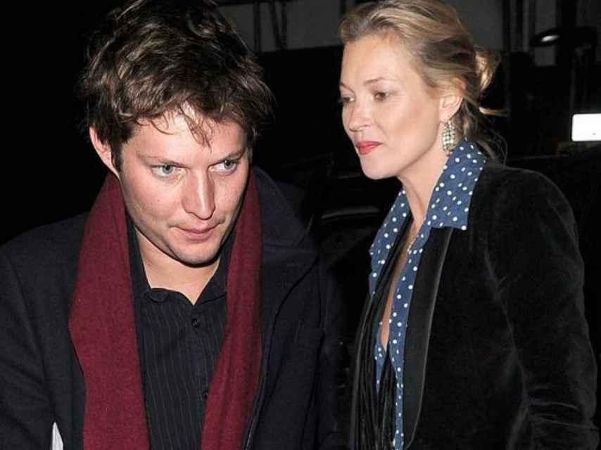 Nikolai Von Bismarck y Kate Moss