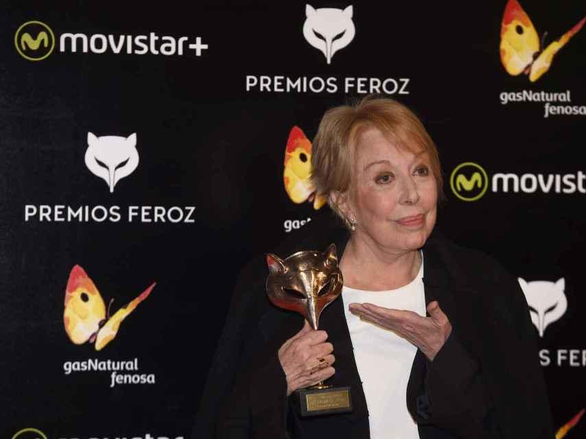 La actriz Rosa María Sardá