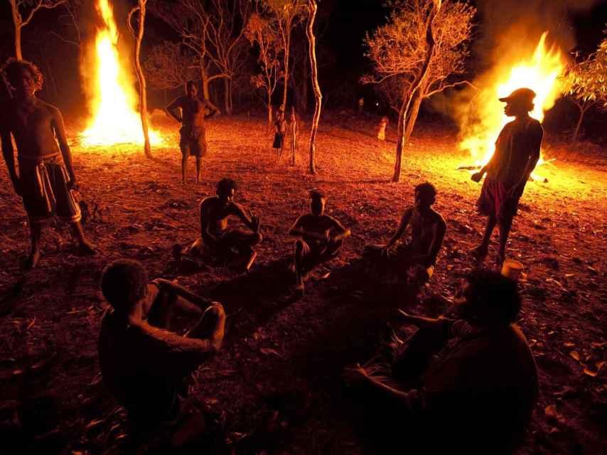 Acampados en el Northern Territory australiano.