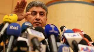 El ministro de la Aviación Civil egipcio, Sharif Fathy.