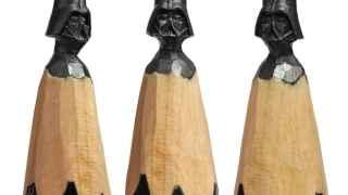 Esculpir a Darth Vader fue su primera obra