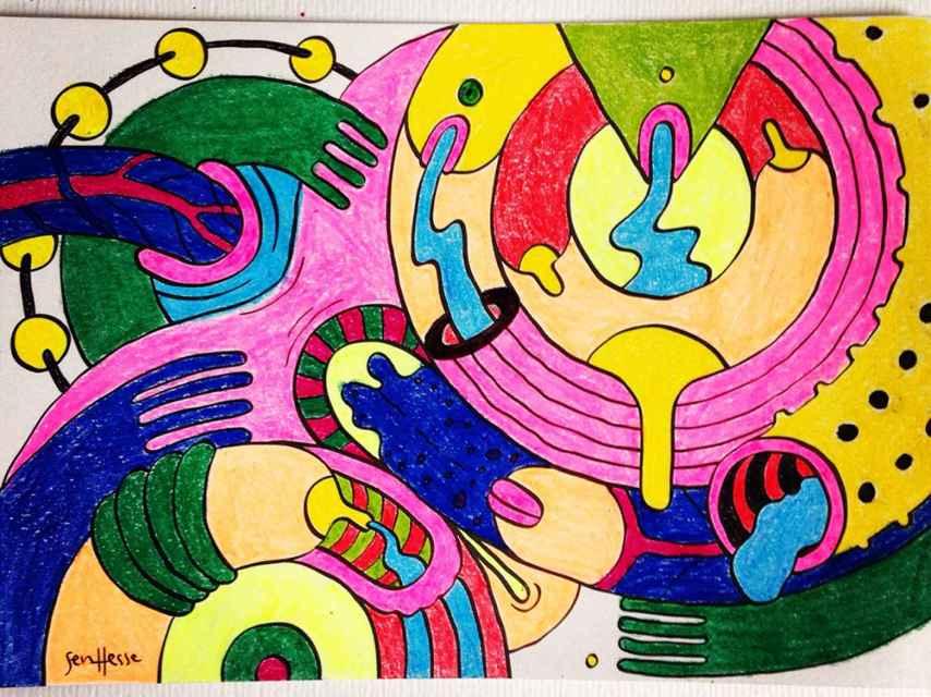 Imagen para colorear de Suruba para colorir.