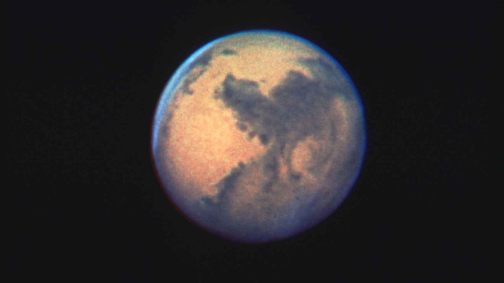 En 1990, cuando Marte se acercó hasta los 85 millones de kilómetros respecto de la Tierra