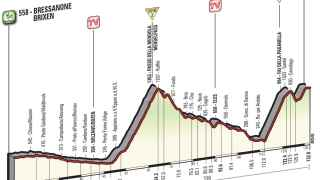 Siga en vivo la 16ª etapa del Giro de Italia.