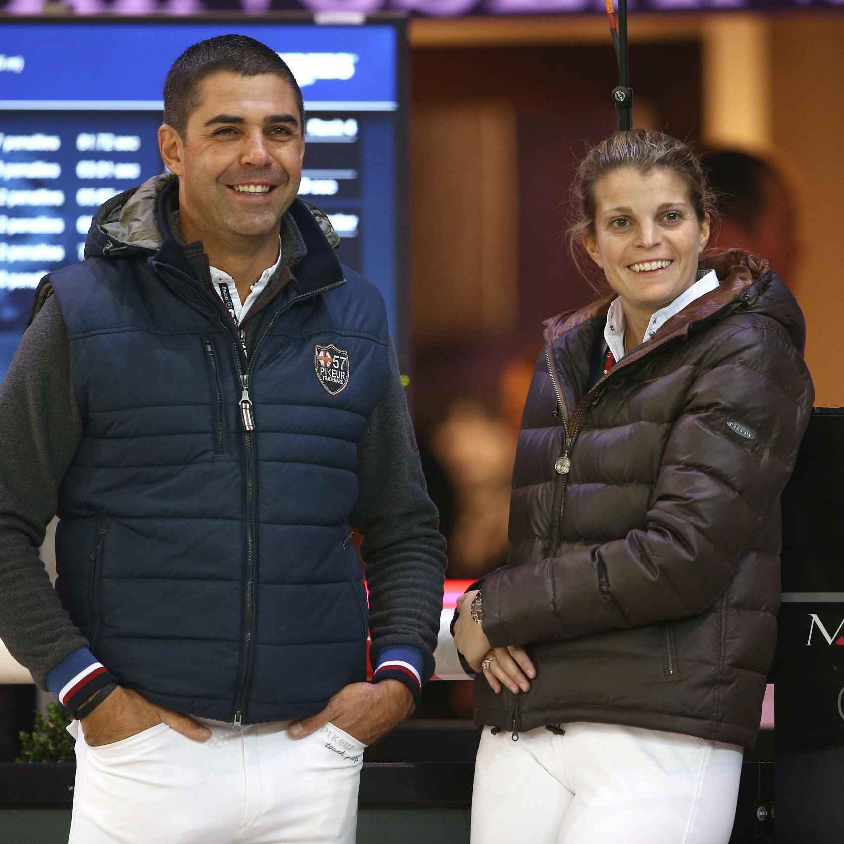 Athina y Doda en el campeonato de París