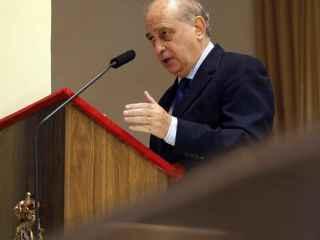Fernández Díaz, en un acto celebrado recientemente en Madrid.