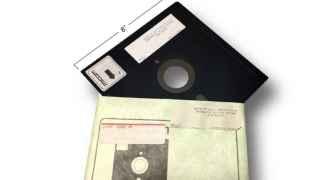 ¿Te acuerdas de los disquetes de 8 pulgadas?