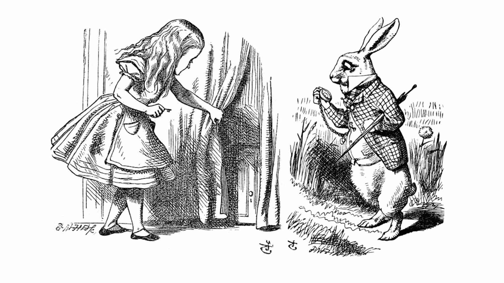 Ilustraciones de John Tenniel
