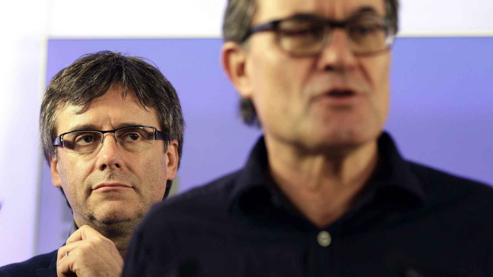 Puigdemont, presidente de Cataluña desde enero