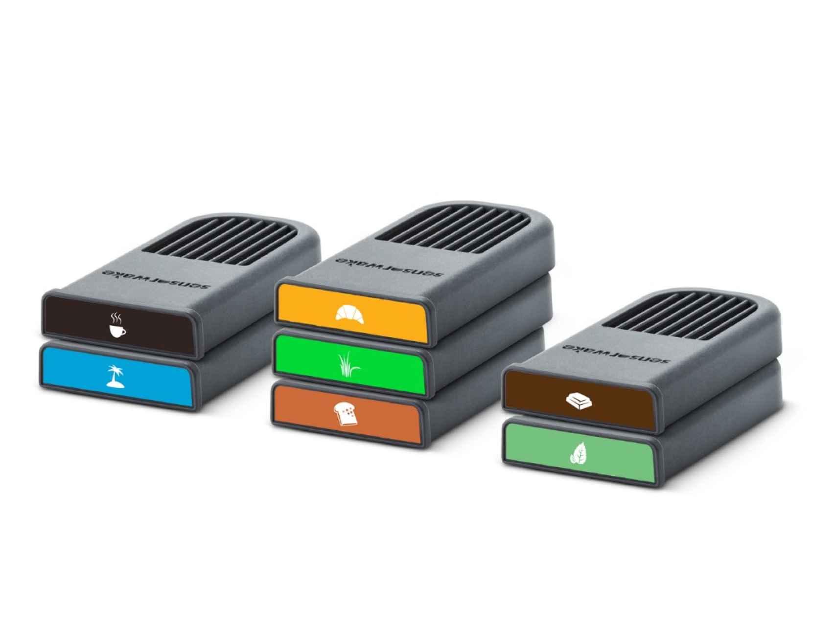 Las cápsulas con las que funciona SensorWake