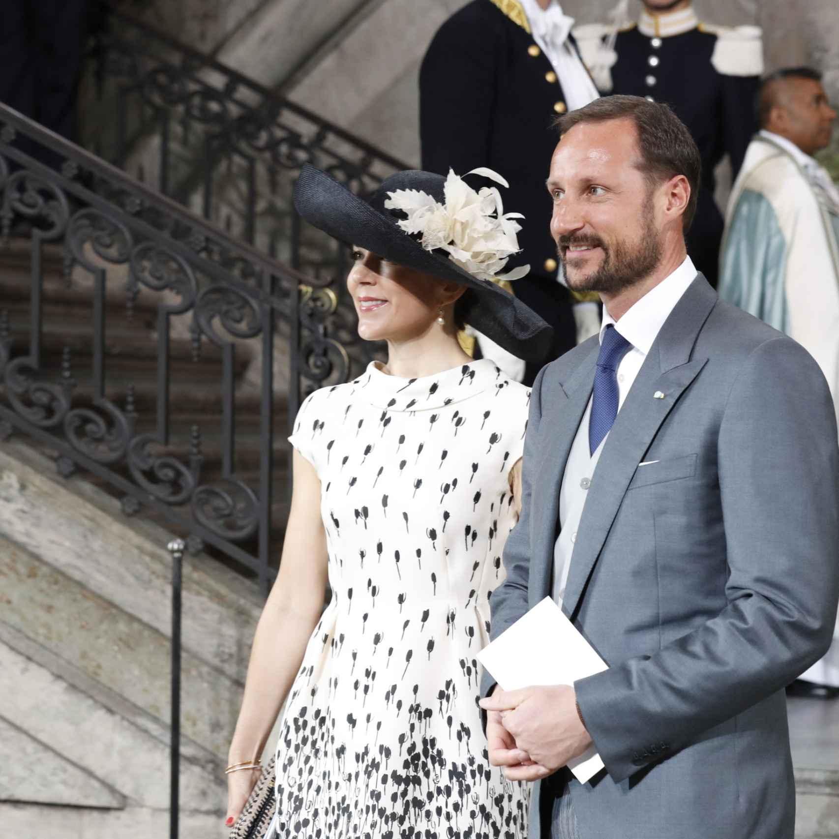 La Princesa Mary y el príncipe Haakon