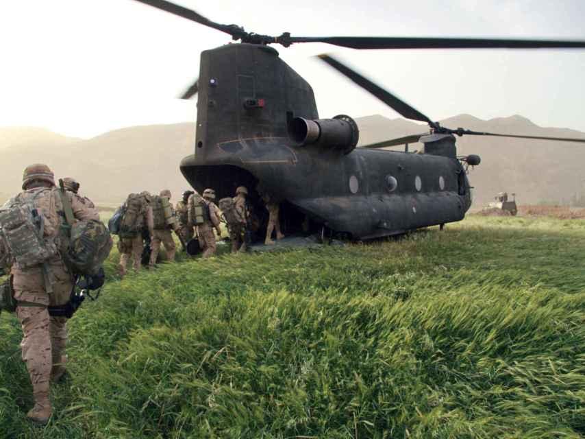 La misión española en Afganistán se ha extendido durante 13 años.
