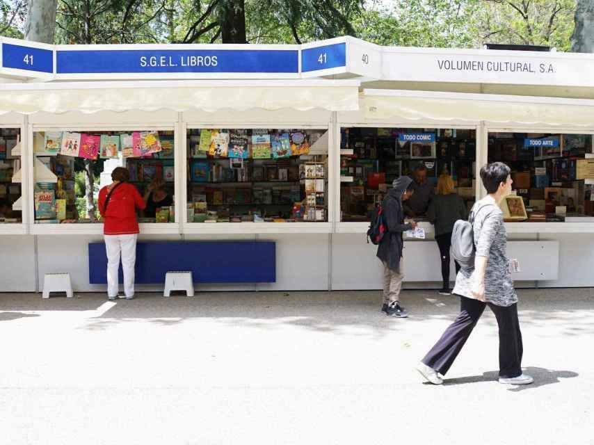 Una imagen del primer día de la Feria del Libro 2016.