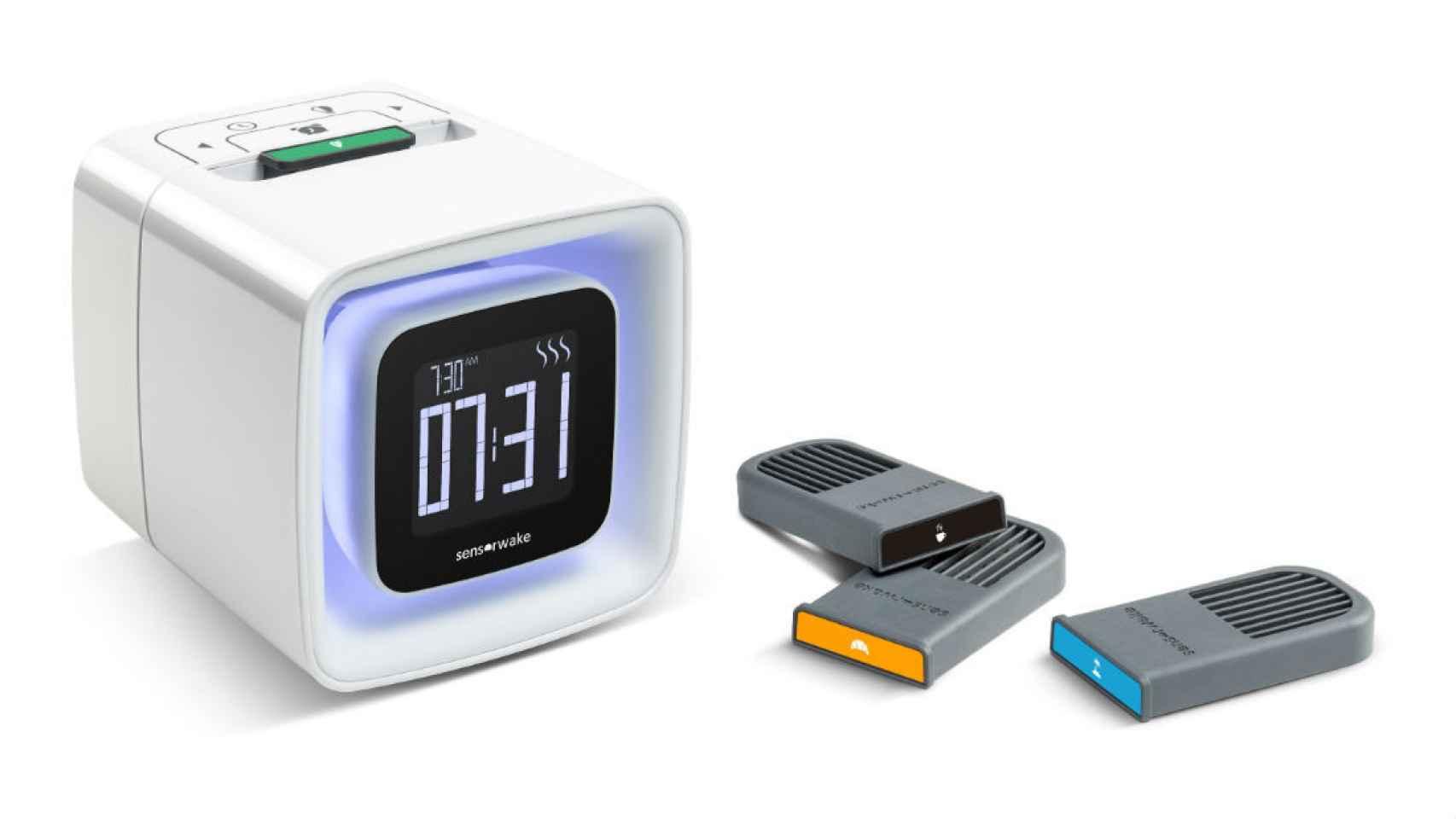 El despertador SensorWake.