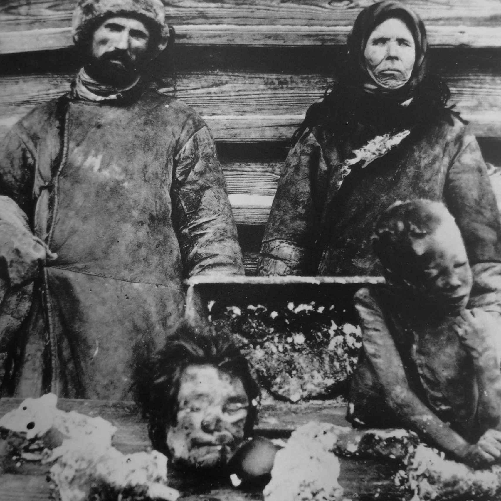 Canibalismo en Rusia durante la hambruna de 1921.